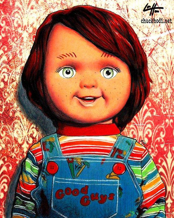 CHUCKY Movie PHOTO Print POSTER Film 1988 Child's Play Bride Of Horror Glossy 01