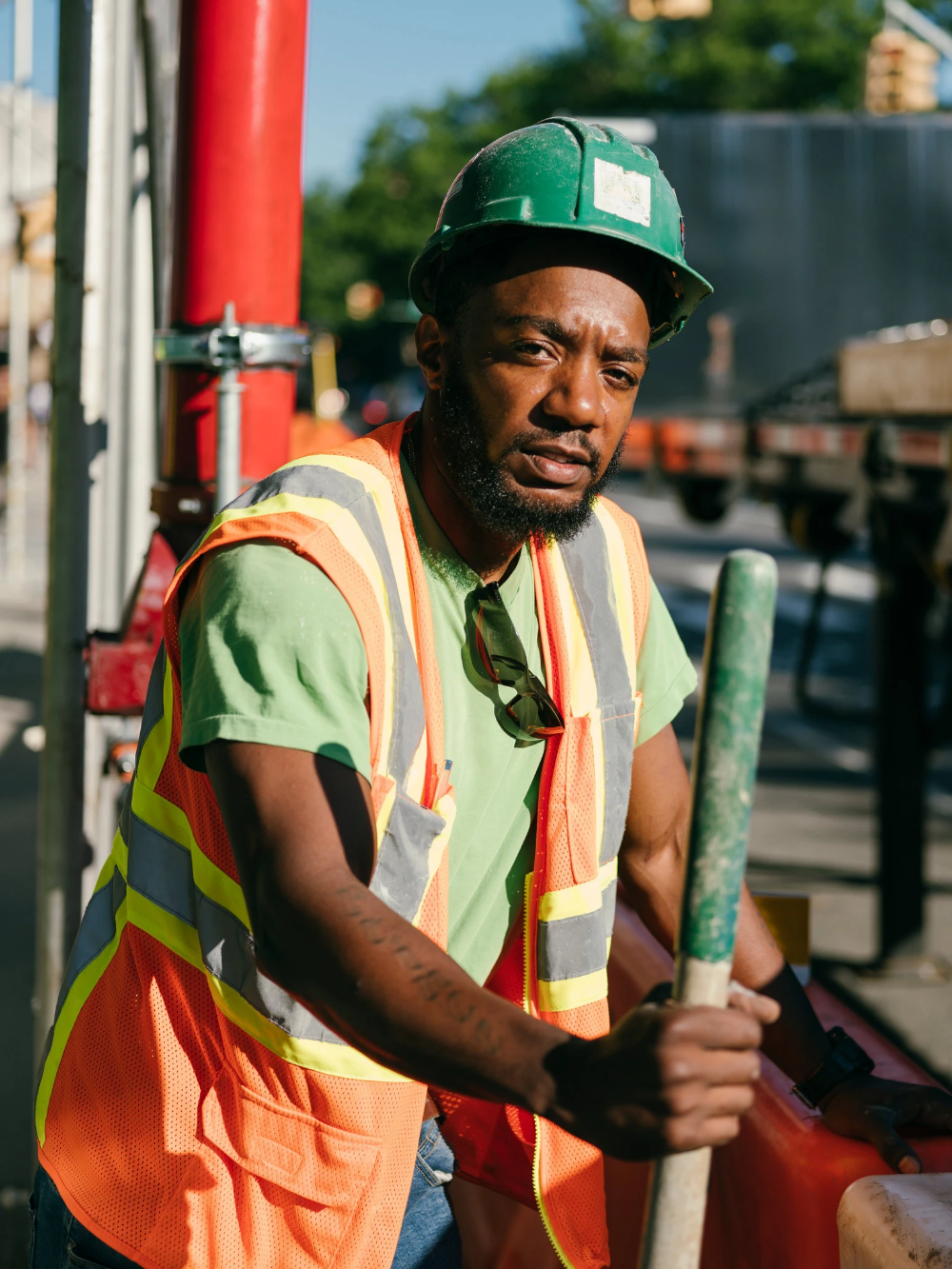 An ExConvict Got a Construction Job, but Not Everyone Was