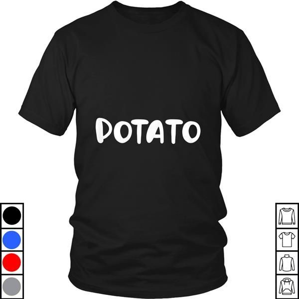 Teeecho Easy Halloween Costume Idea Potato Couples T-Shirt, Sweatshirt, Hoodie for Men & Women #easycostumesformen Teeecho Easy Halloween Costume Idea Potato Couples T-Shirt, Sweatshirt, Hoodie for Men & Women #easycostumesformen