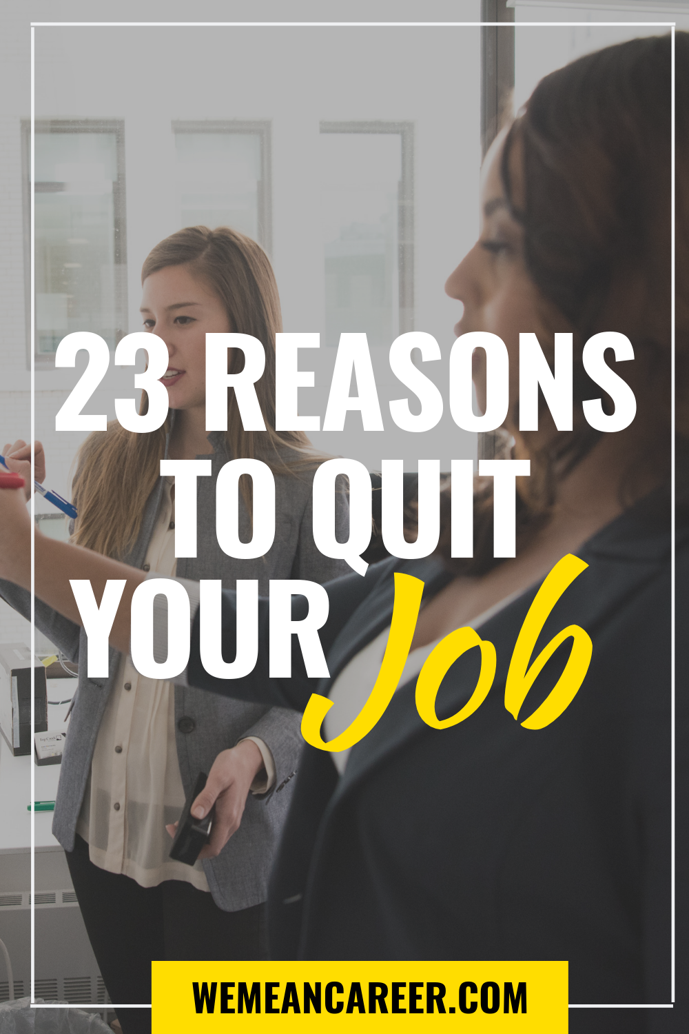 23 Good Reasons To Quit Your Job Quitting Your Job Marketing