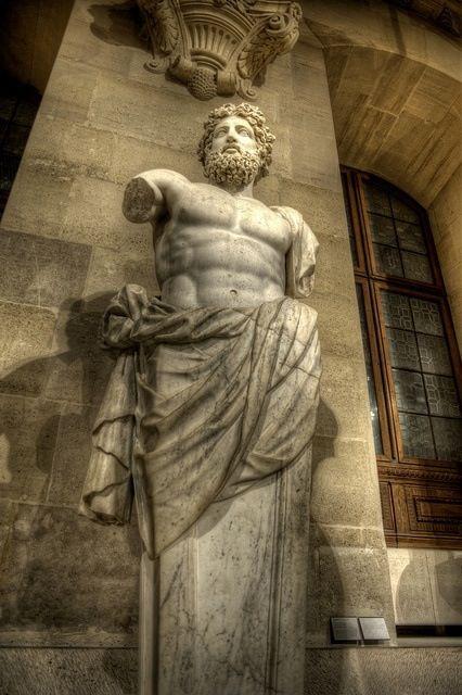 A Colossal Bust Of Zeus Known As Jupiter Of Versailles In The Louvre Paris Sculpture Art Greek Art Greek Sculpture