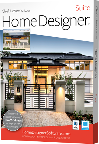 Chief architect home designer suite 2016 home designer suite is home design software for diy home enthusiasts created by chief architect so you can enjoy