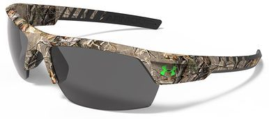 Under Armour Igniter 2.0 Sunglasses with Realtree AP Frame and Gray Lenses