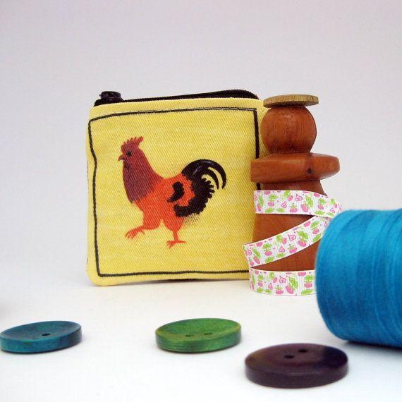Child's purse little girls purse mini coin by MartisanneHandmade, £5.00