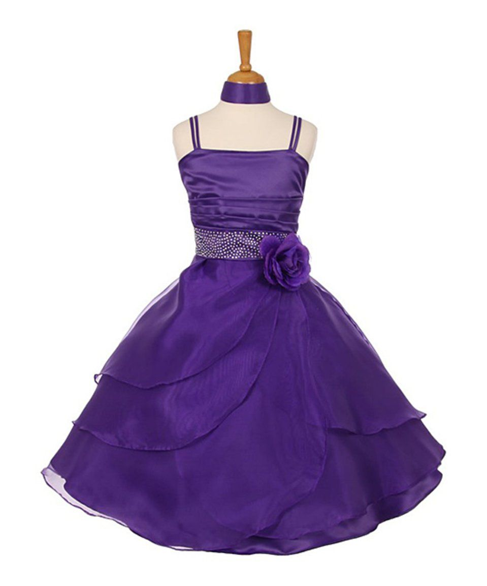 Take a look at this purple tulle aline dress girls today stuff