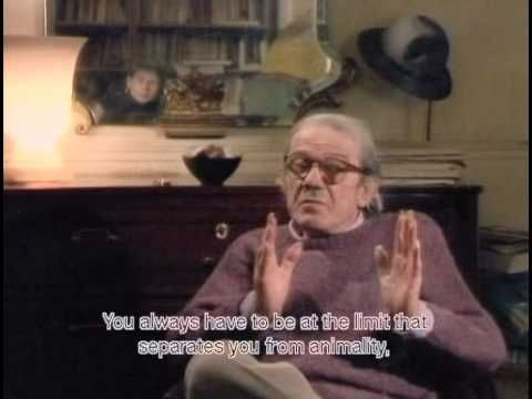 Gilles Deleuze Abecedaire With English Subtitles A C Beautiful Discussion Of Culturally Impoverished Periods Times Of Cultural Desert Video Min 00 50 4