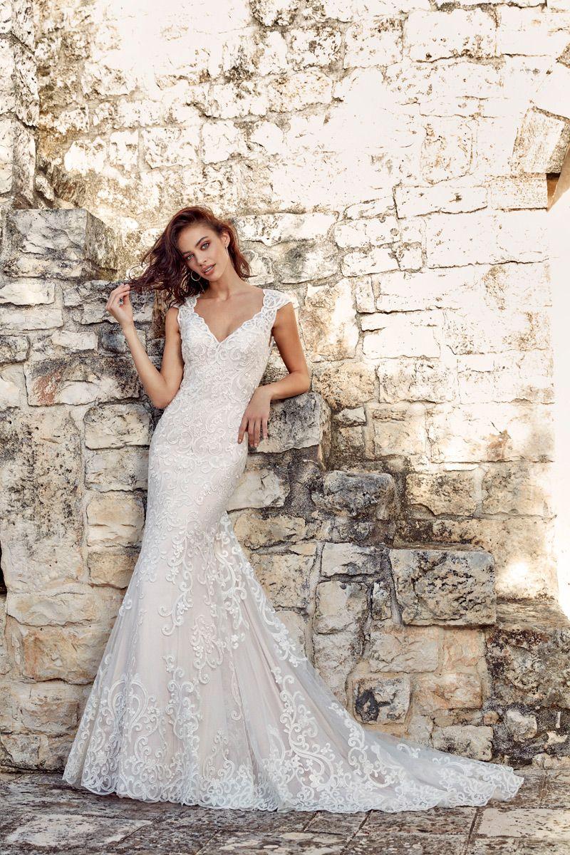 Wedding dress flavia u eddy k bridal gowns designer wedding