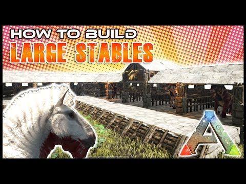Quick Build | Equus Stables | Ark Survival   YouTube | Ark Survival Evolved Base  Ideas | Pinterest