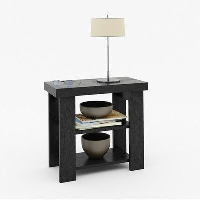 """Ameriwood Industries Hollowcore End Table Overall: 21.69"""" H x 23.56"""" W x 11.69"""" D Overall Product Weight: 23lbs  $69.00"""
