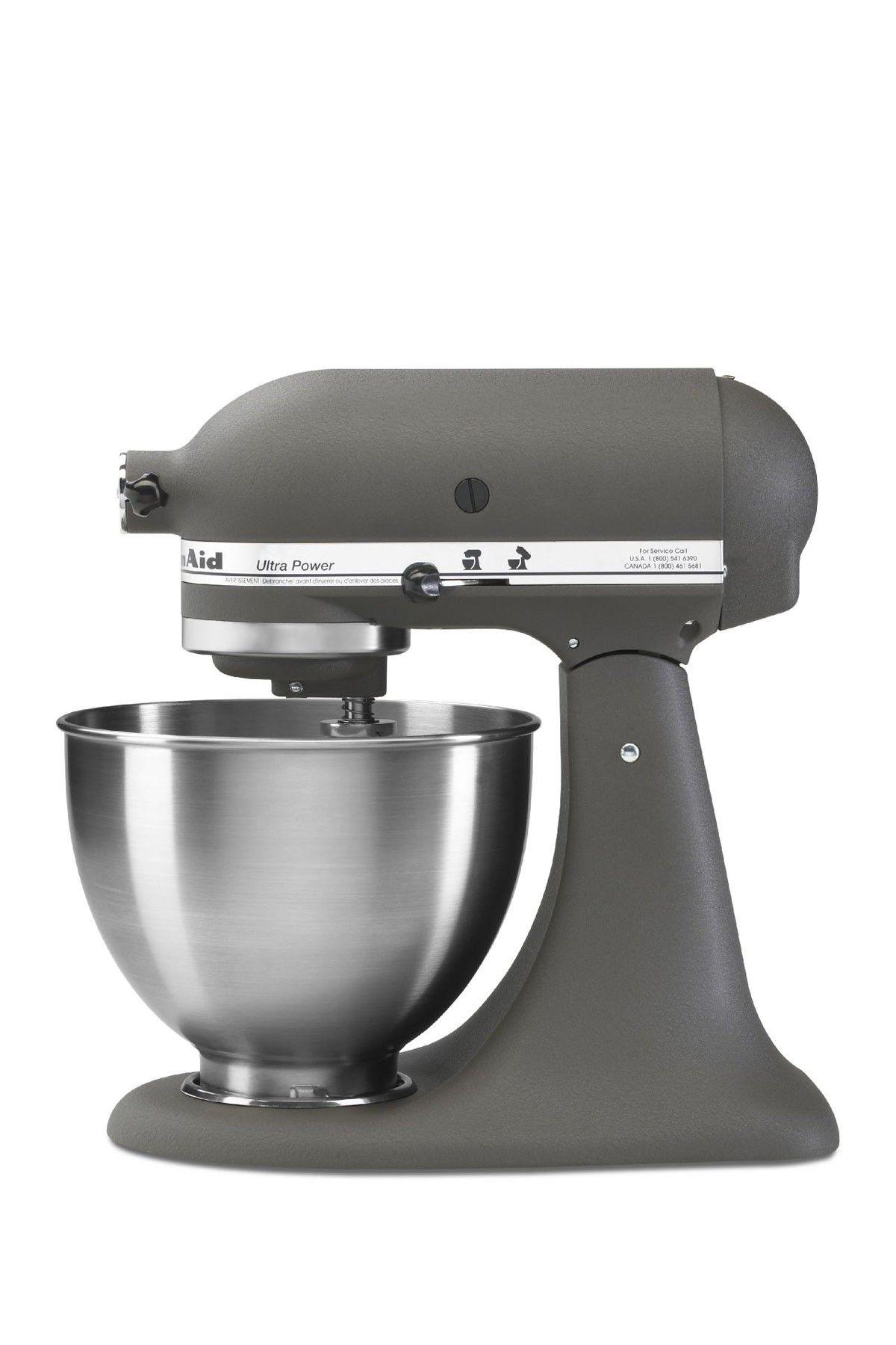 Love The Flat Gray Kitchenaid Ultra Power Tilt Head Stand Mixer