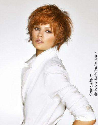 sassy short hair | Coiffures cheveux courts, Coupe de cheveux, Coiffure