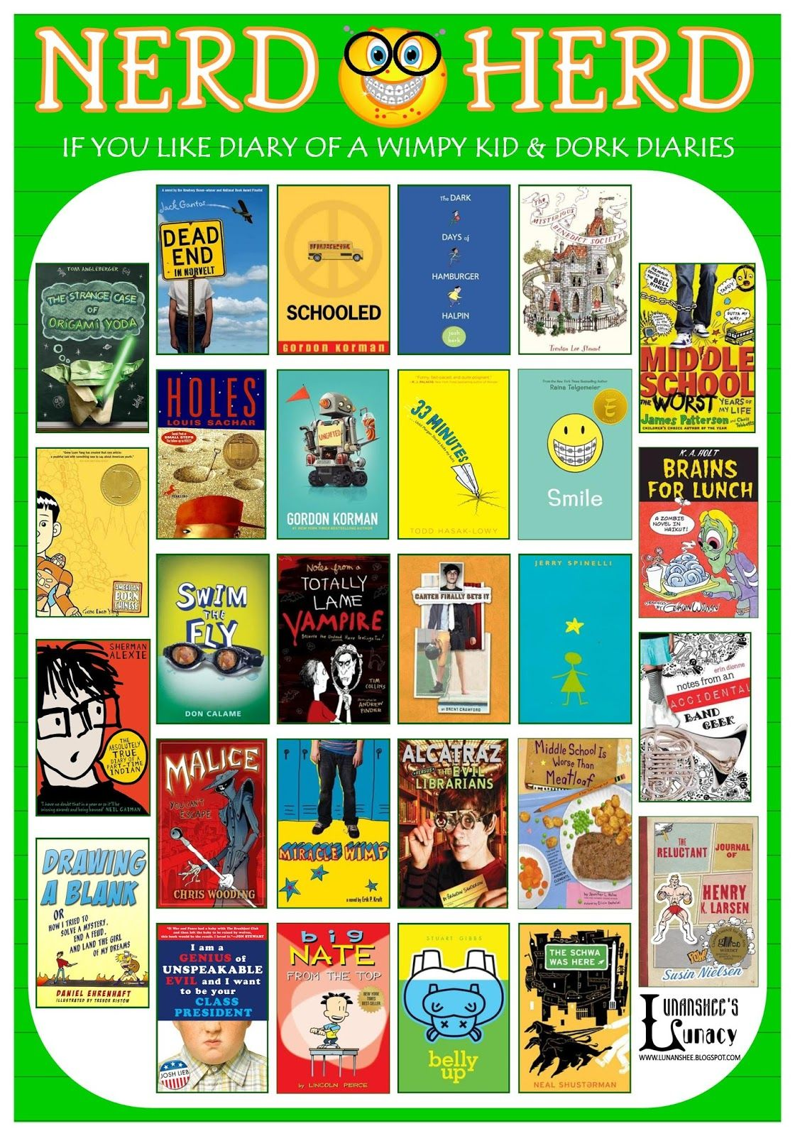 If You Like Diary Of A Wimpy Kid And Dork Diaries Books Worth