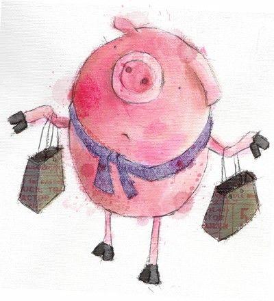 Lee Wildish - Pig goes shopping