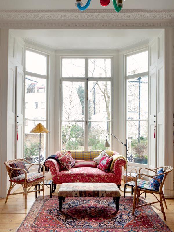 A Victorian Townhouse Period Living Bay Window Living Room Living Room Windows Living Room Furniture Arrangement
