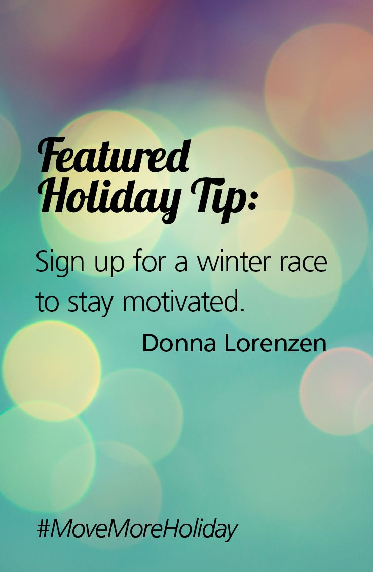 Thanks to Donna for providing a tip on how to stay on track during ...