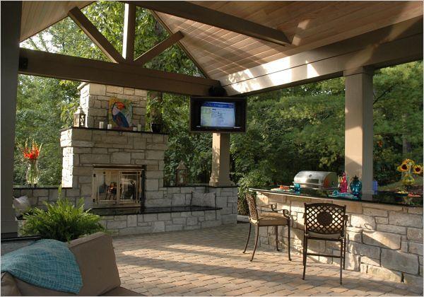 Project Spotlight Backyard Poolside Pavilion Backyard Pavilion Outdoor Pavilion Backyard