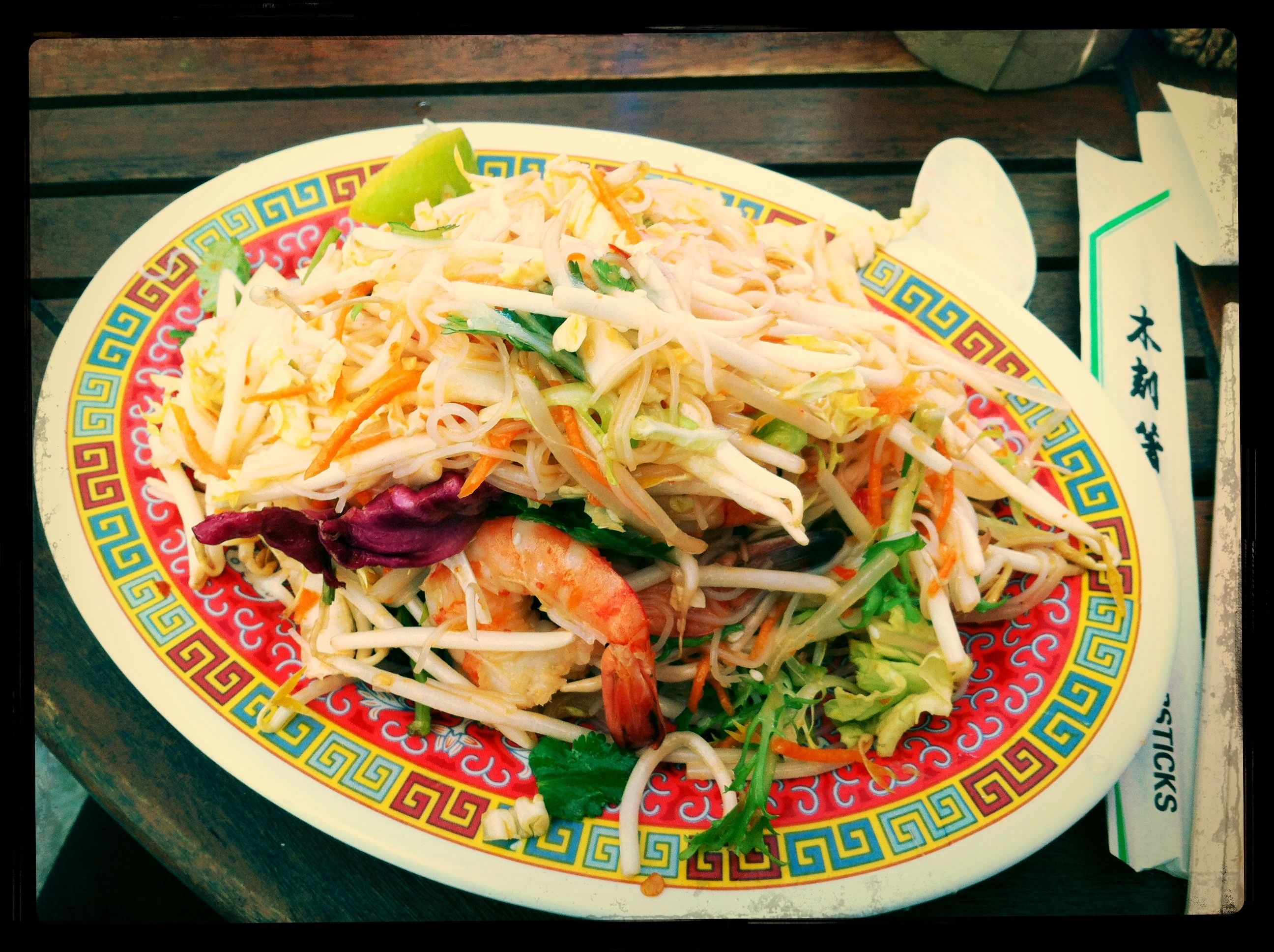 Prawn Salad With Lime And Coriander From Phat Phuk A