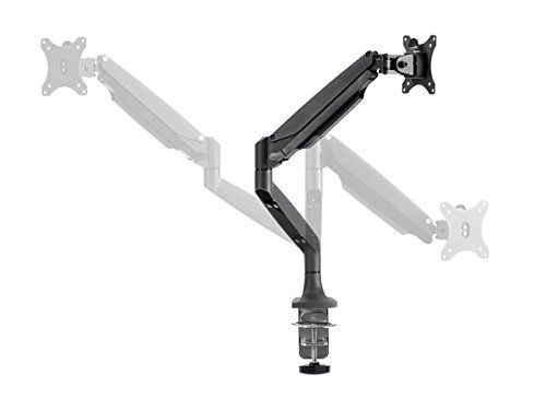 #Mount-It! Height Adjustable Full-Motion Articulating Desk Mount integrates fashion with function, delivering ergonomic performance with style. Increase viewing ...