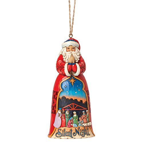 "/""Lapland Santa/"" Jim Shore Figur 4041109 ENESCO CHRISTMAS Hanging Ornament"