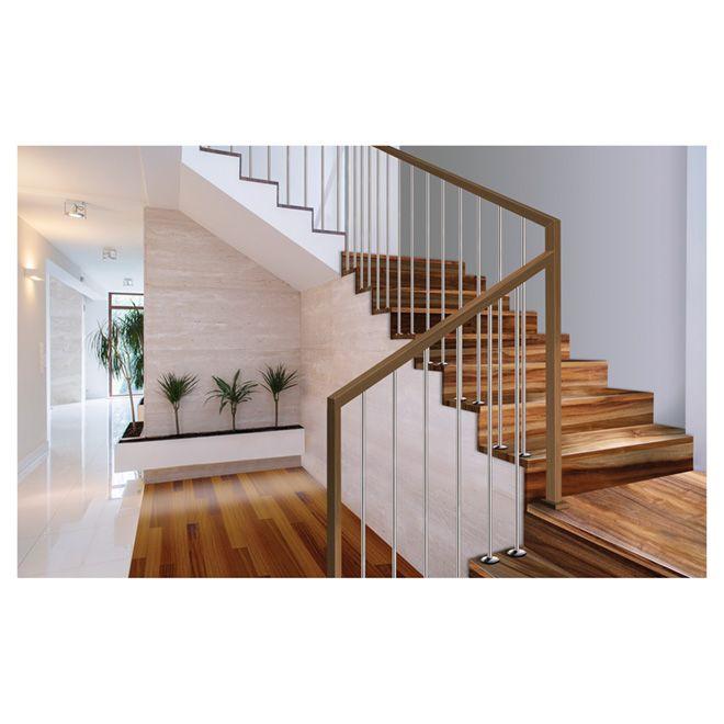 Best Natural Acacia Stair Tread 42 Varnish Chapes D 400 x 300