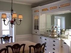 dining room built in cabinet ideas - Google Search