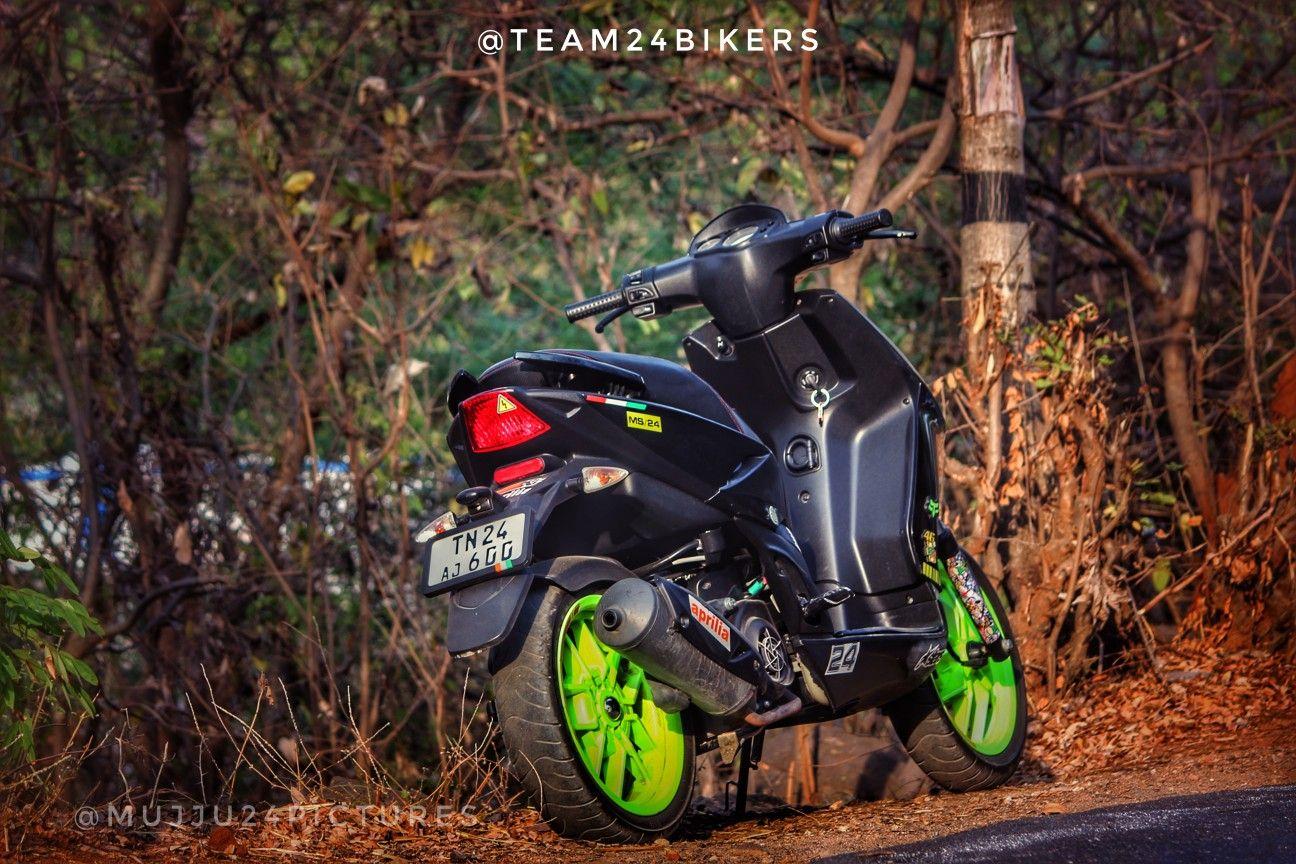 Aprilia Sr150 Modified Team24bikers Krishnagiri Picsart