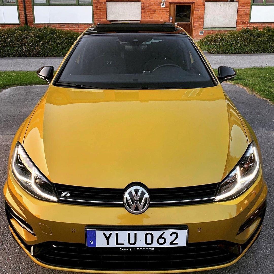 Golf 7 5 R Turmeric Yellow Golf Gti Volkswagen Golf Vw Scirocco