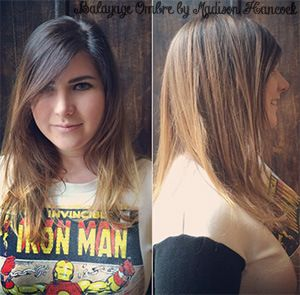 balayage #balayageombre #haircolor #coloredhair #brunettebalayage ...