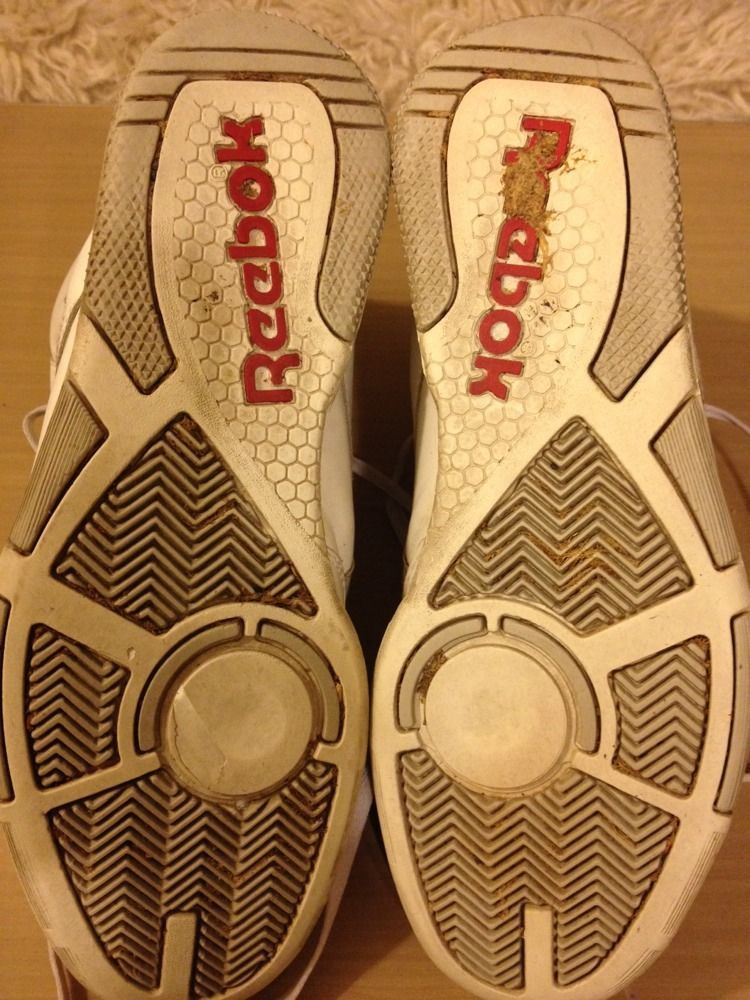 official photos f33d7 4ddd8 Vintage Reebok Sneakers Tennis Shoes BB 4600 II White and Grey Size 9 UK 8 1  2   eBay