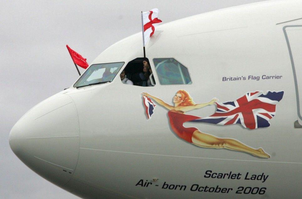 Afbeeldingsresultaat voor Scarlet lady plane