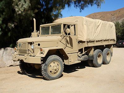 Reo Company M35a2 M35a3 Nib Tan Cargo Cover Deuce And A Half