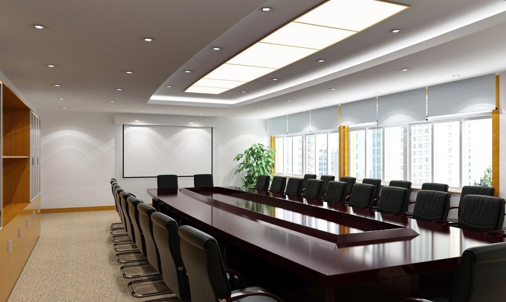 Meeting room design google meeting room pinterest for Conference room design ideas office conference room
