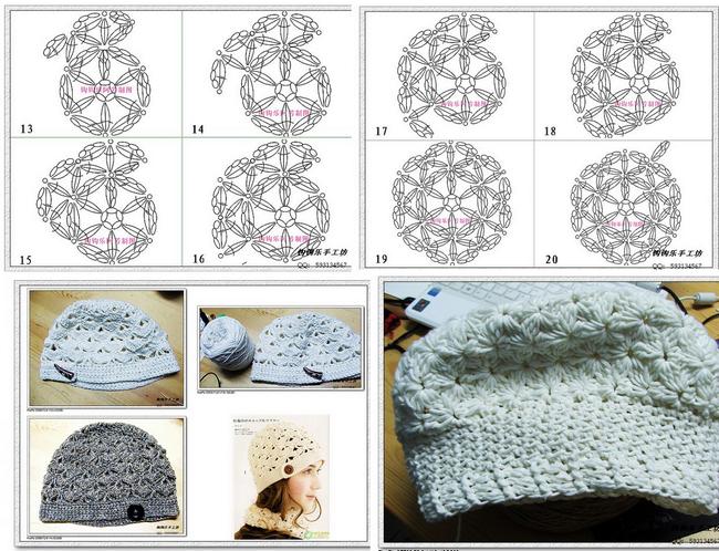 modele-crochet-gorro-femme (1) | crochet | Pinterest | Gorros ...