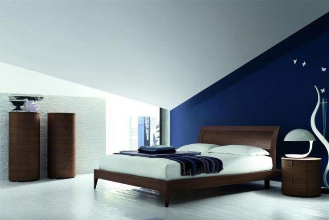 37 Wand Ideen zum Selbermachen - das Schlafzimmer streichen - ideen fr schlafzimmer streichen