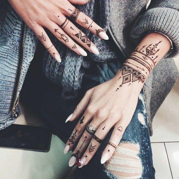 90 henna tattoo ideas – latest trends and beautiful motifs