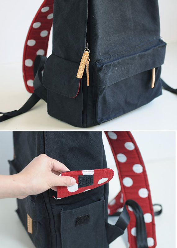 f677f76009c1 Be Strong ! Multiple Pockets Backpack - Bag PDF Sewing Pattern ...