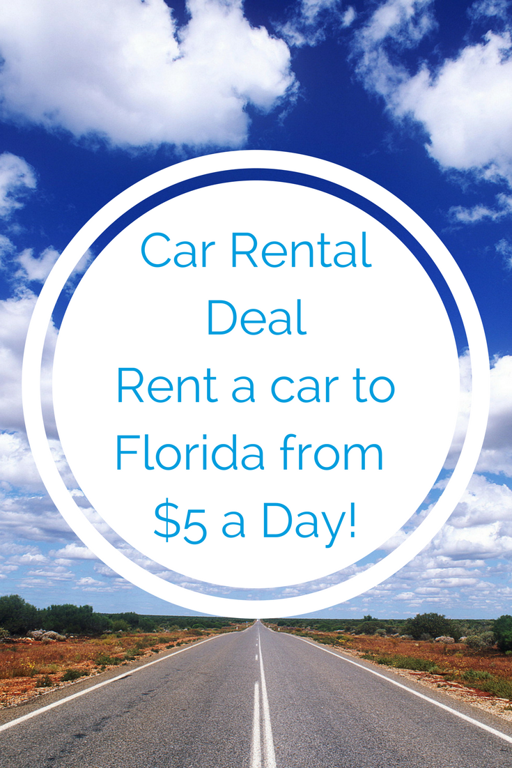 one way car rental deals 5 day home from florida featured on rh pinterest com