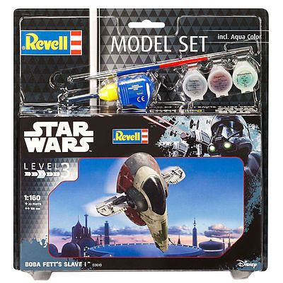 Revell Star Wars Boba Fett's Slave I 03610 with Paints Glue