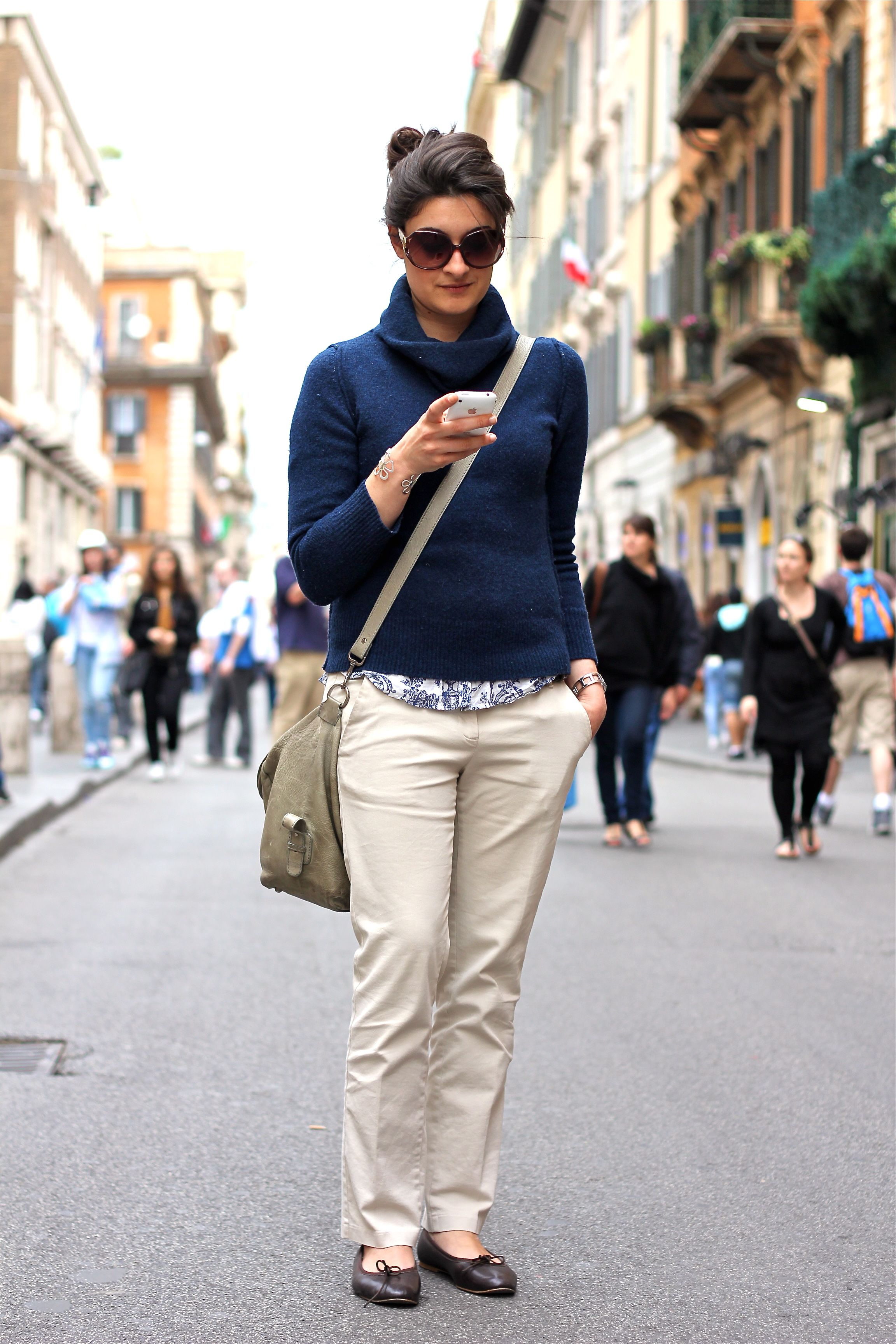Rome - style by daniela | Italian Street Style (Strada Di ...
