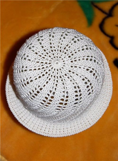 DIY Crochet Pretty Panama Hat for Girls | Crochet Craft Ideas ...