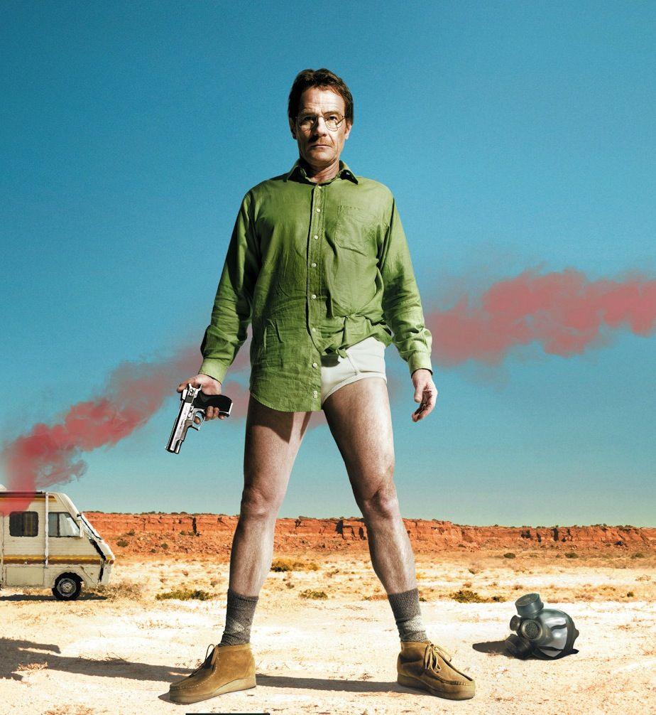 Walter White played by Bryan Cranston. Breaking Bad Season