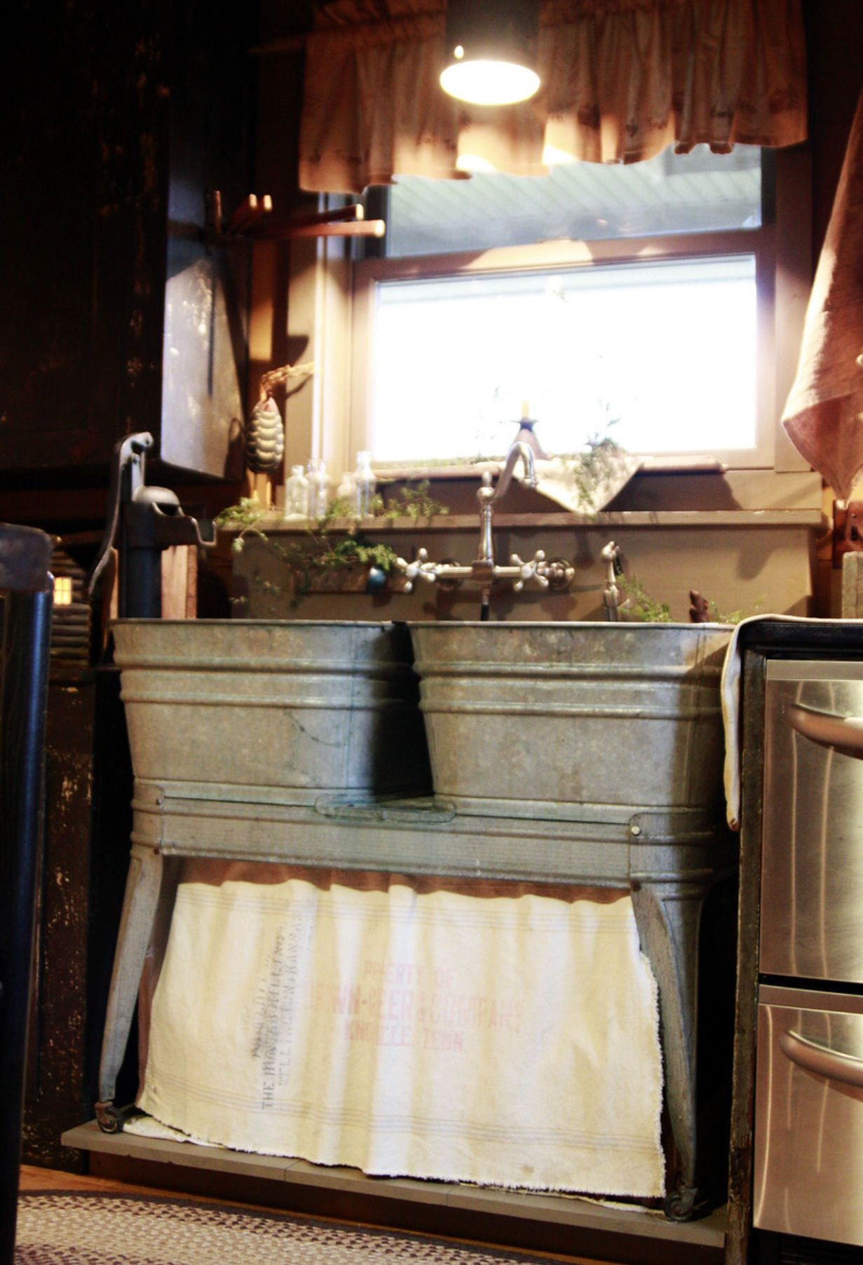 This Would Be So Fun For A Laundry Room Mud Room Antique