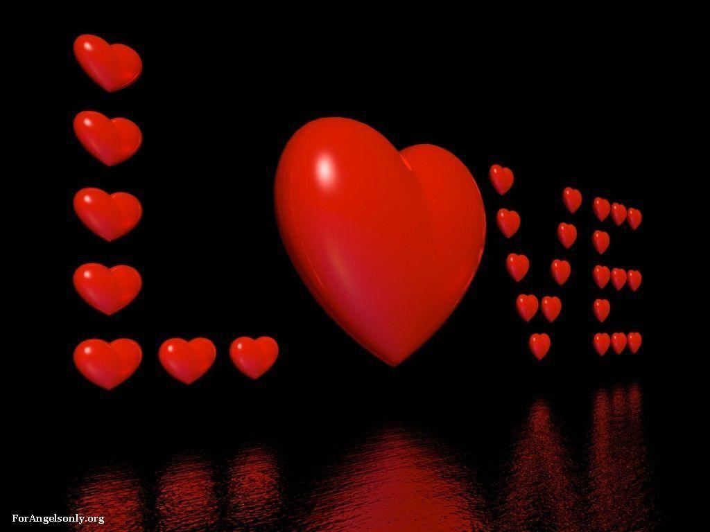 Beautiful Red Love Wallpaper : beautibul animation hearts Love Pictures - Love Wallpapers ~Beautiful~Heart s~ Pinterest ...
