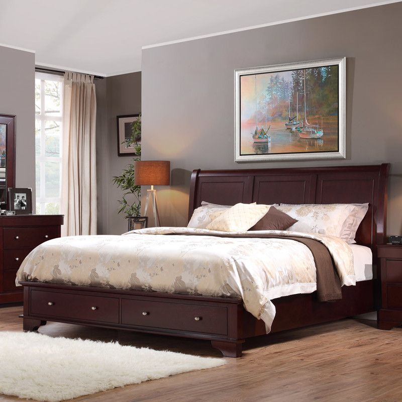 LifeStyle Solutions Compton Platform Bed