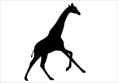 Giraffe Silhouette Vector Download Giraffe Vector Silhouette Giraffe Silhouette Animal Silhouette Silhouette Vector