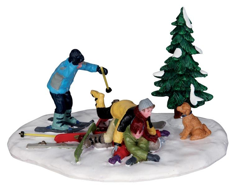 Ski Pile-Up