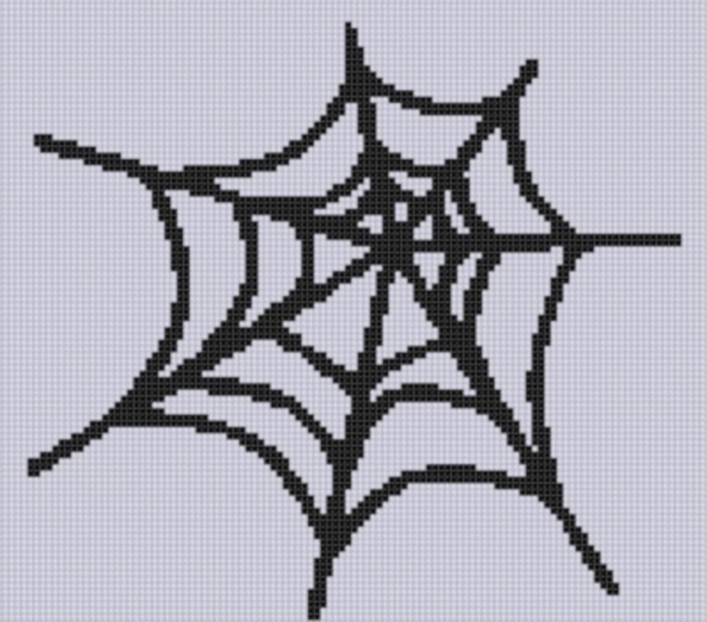 Spider Web Cross Stitch Pattern | Pinterest | Bügelperlen ...