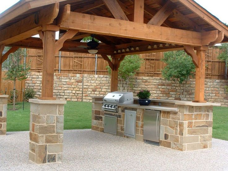 Outdoor Kitchens On A Budget Images Diy Kitchen Appliances