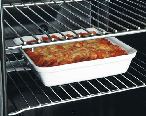 adjustable oven shelf 9 99 create extra shelf space in the oven rh pinterest co uk how to fit adjustable oven shelves