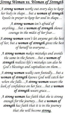 Strong Woman Vs Woman Of Strength Serendipity Strong Women